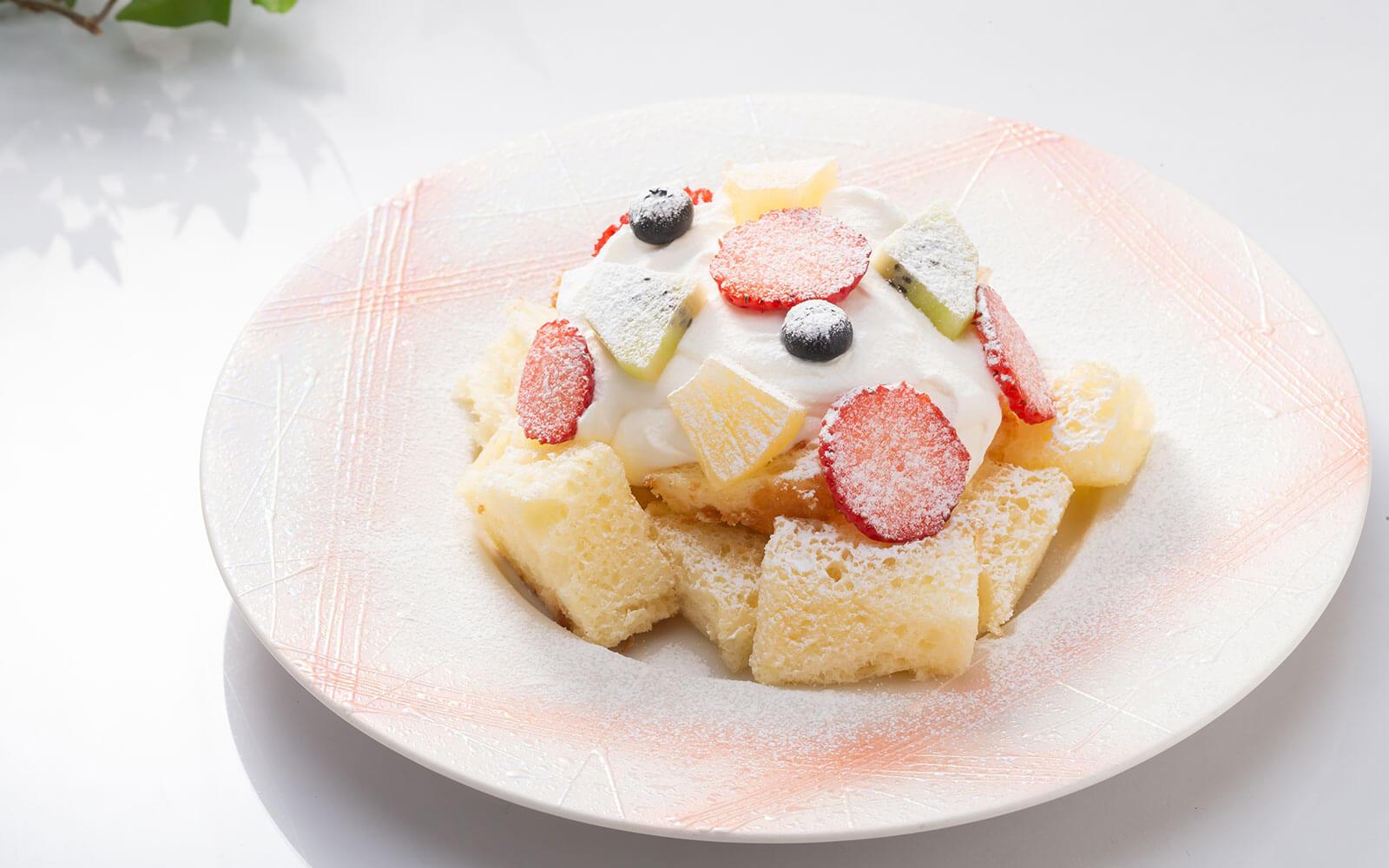 ミュー風ショートケーキ